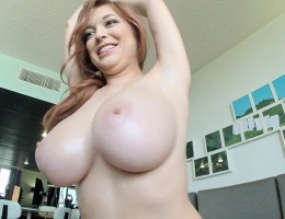 Hi there guys and welcome to Friday! The good news is that I am healthy enough to be still working away here behind my laptop and I'm happy to bring you another new HD video from my GoPro files, where you get to see my huge natural boobs up close and in a