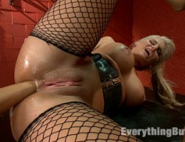 Lesbian anal fisting and domination!