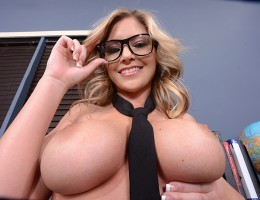 Brianna Brooks has soaked up just about everything there is to learn in school, except the most important thing of all: how to fuck! She really wanted to get some first-hand sexual experience, so she asked the sluttiest girl in school to help her write a