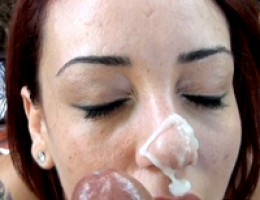 12 pics and 1 movie of Milaa from Street Blowjobs