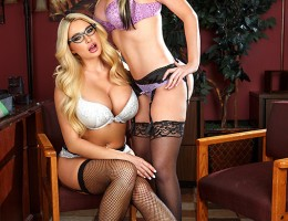 When Johnny Sins\'s boss, busty blonde babe Alena Croft, called him into her office for a little chat, he was expecting the worst. All the office sluts had been complaining that Johnny hadn\'t been hitting on them enough, and they were so horny that they
