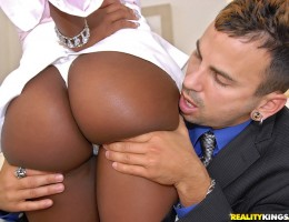 12 pics and 1 movie of Ebonye from Round And Brown