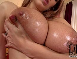 Gorgeous Busty Czech Katarina With 34DD\'s Fucks & Sucks