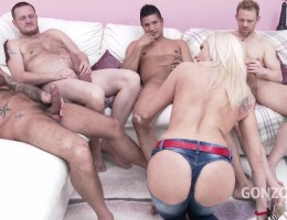 Brittany Bardot takes no toys only big cocks (DP / DVP / DAP & double pussy creampie) SZ1926