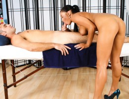 Victoria Blaze and Daniel Hunter Deep Erotic Massage
